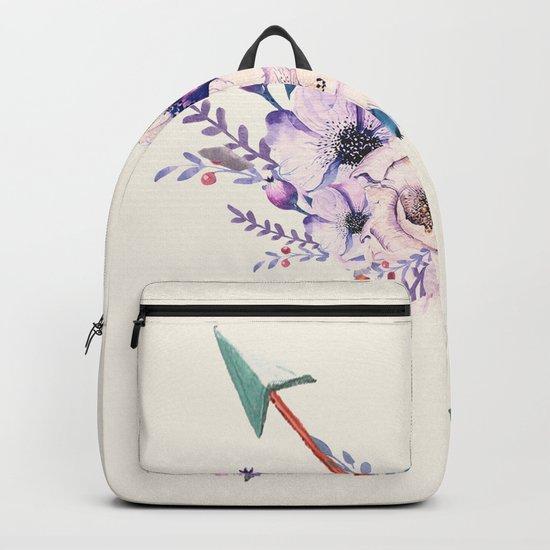Floral Arrows Backpack
