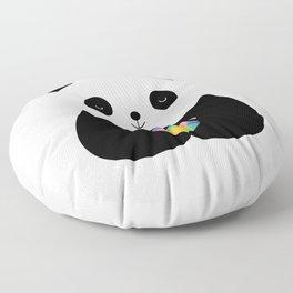 Panda Love Floor Pillow
