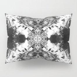 Black Gatria- Abstract Costellation Painting. Pillow Sham