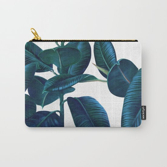 Luna Leaves Carry-All Pouch