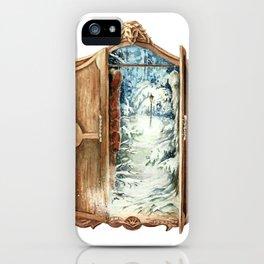 Narnia Wardrobe iPhone Case