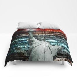 Believe In Liberty Comforters