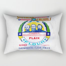 Vintage Shenandoah Flour Mills Sack  Rectangular Pillow