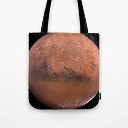 Schiaparelli Hemisphere, Mars Tote Bag