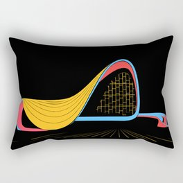 heydar aliyev center - zaha hadid Rectangular Pillow