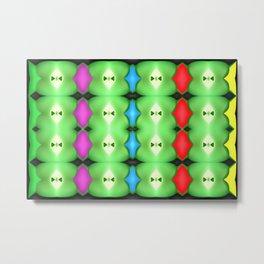 Softly plastic pattern Metal Print