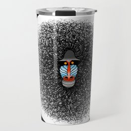 Crazy Baboon  Travel Mug