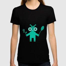 Romantic Robot #society6 #decor #buyart #artprint T-shirt