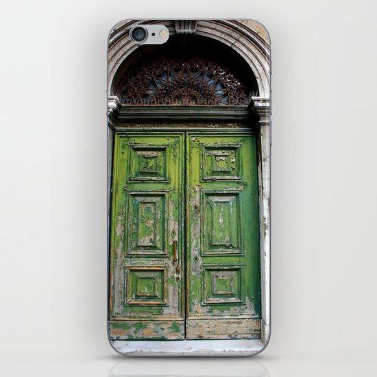 Green Door iPhone & iPod Skin