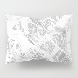 Scratched Marble Pillow Sham