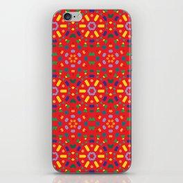 Kaleidoscope Number 1 iPhone Skin