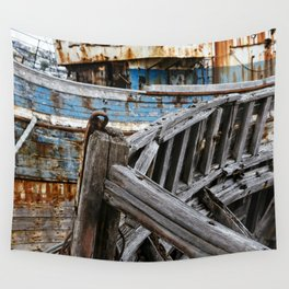 Ship Wreck Wall Tapestry