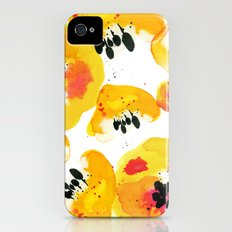 Water Flowers iPhone (4, 4s) Slim Case