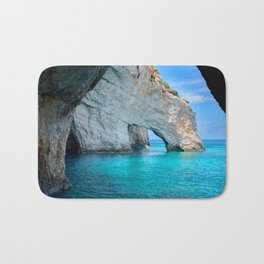Greece Ocean Bath Mat