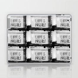 Love is possible - Berlin stencil Laptop & iPad Skin