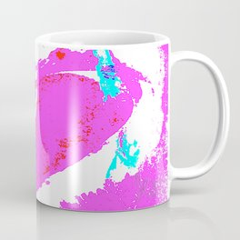 Pink Graffiti Ribbon for Breast Cancer Research by Jeffrey G. Rosenberg Coffee Mug