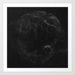 Supernova remnant Art Print