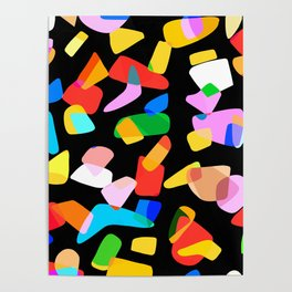 so many shapes Poster