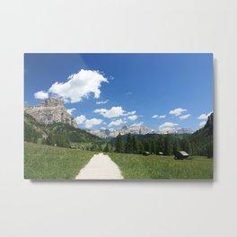 Italian Dolomites view Metal Print