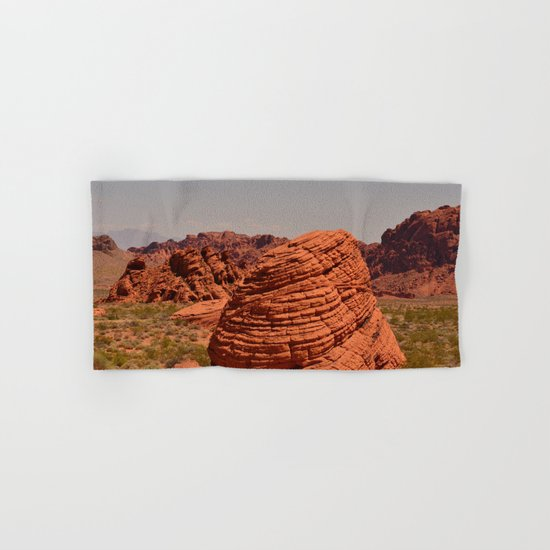 Red Valley Hand & Bath Towel
