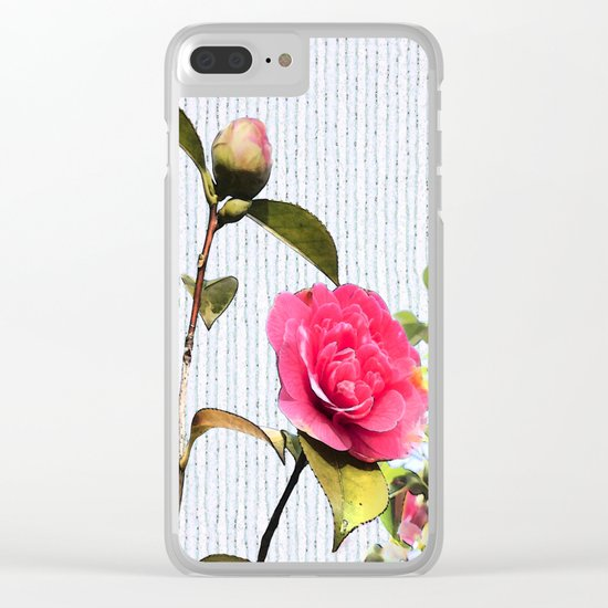 Surrendering to the beauty Clear iPhone Case