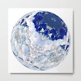Globe03 Metal Print