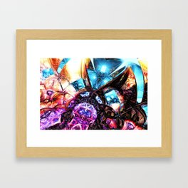 Crystal Caves #1 Framed Art Print