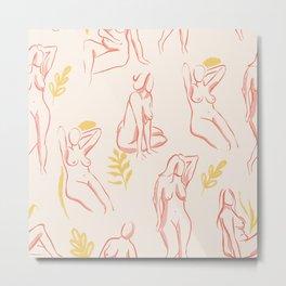 Women bodies Metal Print