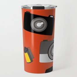 Modern and Antique Cameras Travel Mug