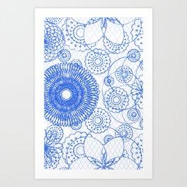 Outlined Art Print