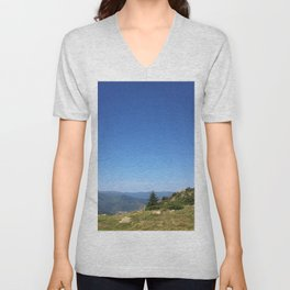 View on the summits Unisex V-Neck