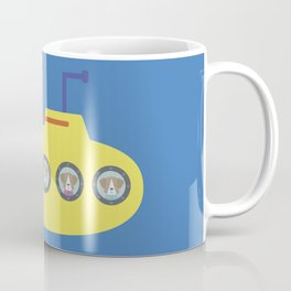 The Beagles - Yellow Submarine Coffee Mug