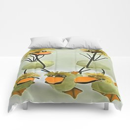 Five Upcycled Funny Quirky Chicks Comforters
