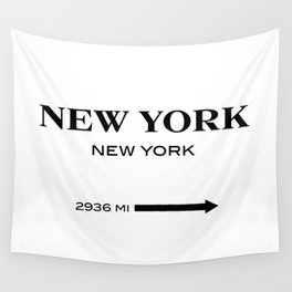 gossip girl sign Wall Tapestry