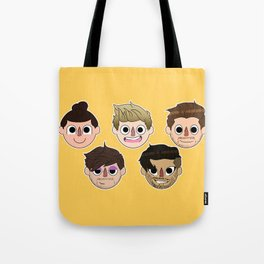 Animal Crossing One Direction Tote Bag