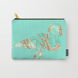 Flamingo Spring Carry-All Pouch