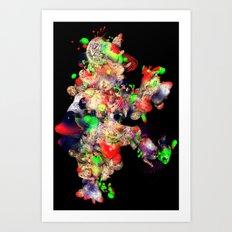 rambling pseudomorph w/ jug Art Print