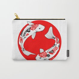Japanese Kois Carry-All Pouch