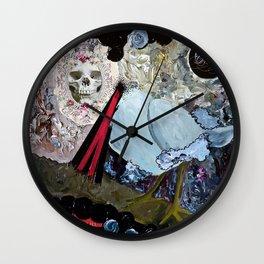 Vanitas Wall Clock
