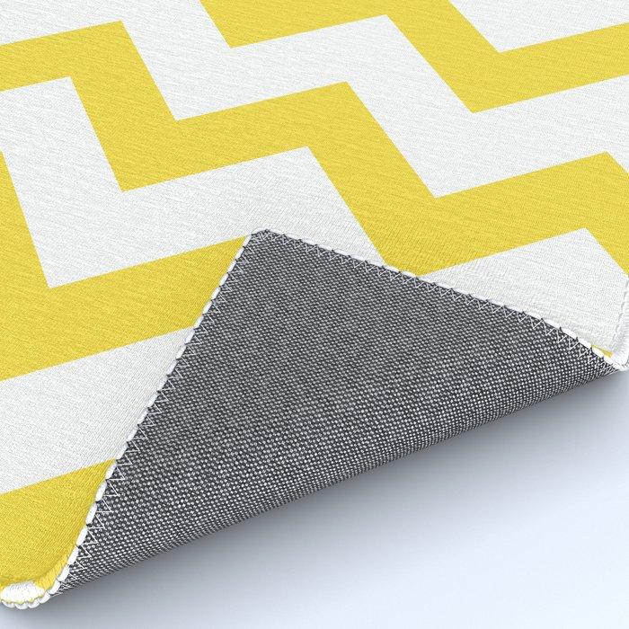 4x6 rug yellow chevron Rug by