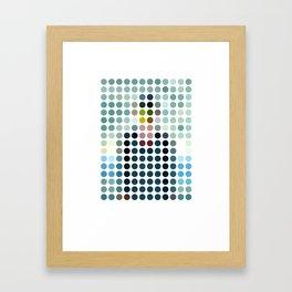 Rene Magritte Remixed Framed Art Print