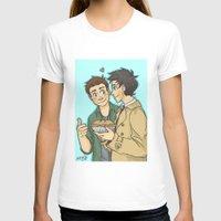 pie T-shirts featuring DeanCas -Pie by KalesButt