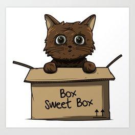 Box sweet box Art Print