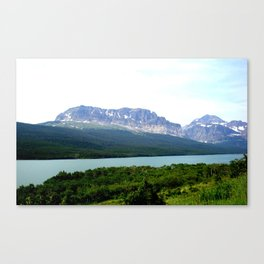 EARTH, WATER, AND SKY Canvas Print