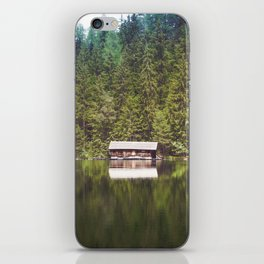 Cottage in the Forest (Color) iPhone Skin