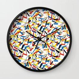 Bauhaus Remix Wall Clock