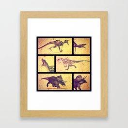 Dino Yearbook 2 Framed Art Print