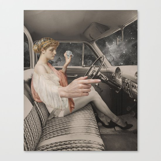PRNDL Canvas Print