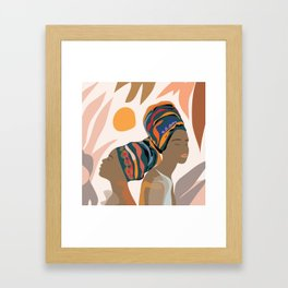 Women with the Turbans Framed Art Print