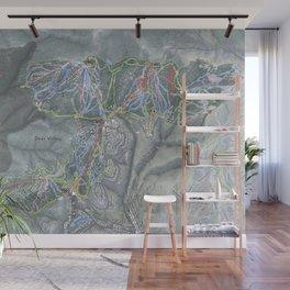 Deer Valley  Resort Trail Map Wall Mural